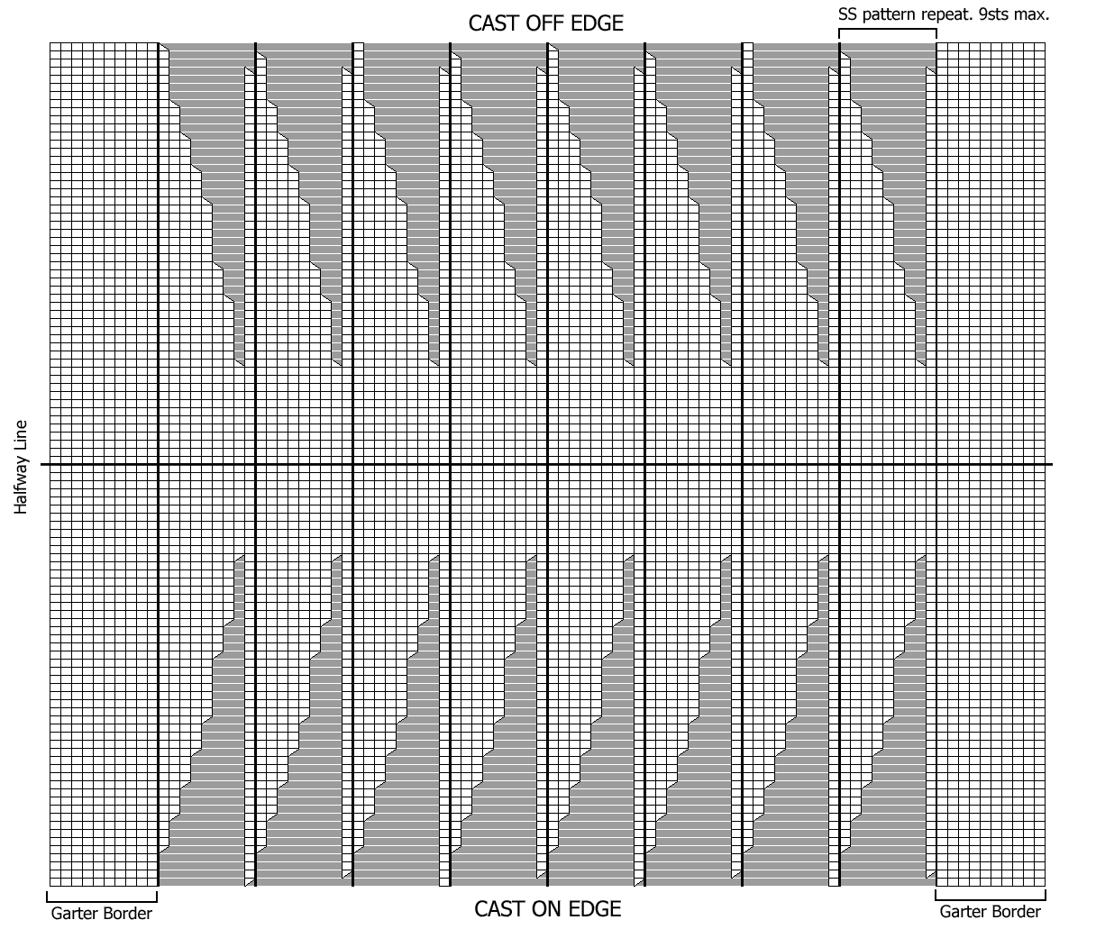 ODDknit - Free Knitting Patterns - Side-to-Side Hat