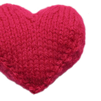 KNIT A HEART PATTERN | Free Patterns